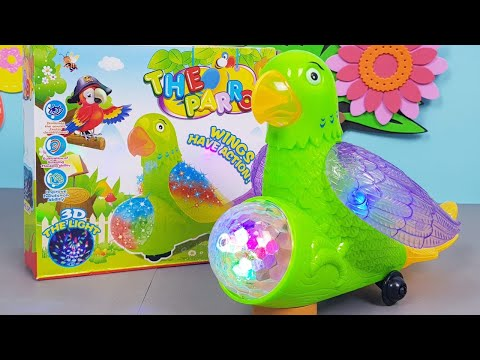 Parrot |Parrot Toy|Parrot Toy For Kids|Toys Review |Unboxing of toys| Kids Toys|Toys Videos|TOY LAND