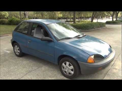 97 CHEVY GEO METRO LSI 3 CYLINDER 5 SPEED W/TRAILER HITCH 52.47 MPG GOING 52-57 MPH- 99.2 MILE TRIP