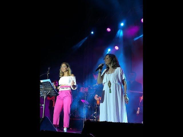 Γλυκερία και Μελίνα Ασλανίδου ένωσαν τις φωνές τους στο Ανοιχτό Θέατρο Νεάπολης