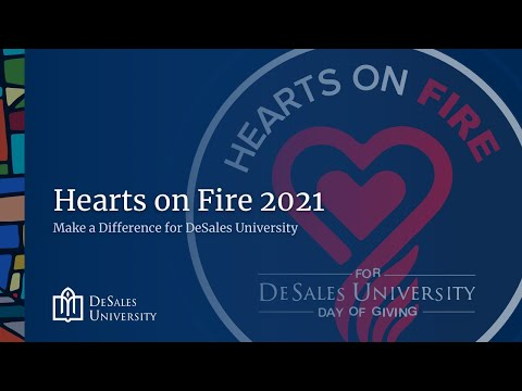 Hearts on Fire: Make a Difference for DeSales University - 2021Day of Giving