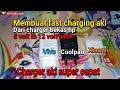 Ide Kreatif Aki Fast Charging Dari Charger Hp 5 Volt Untuk Aki 12 Volt