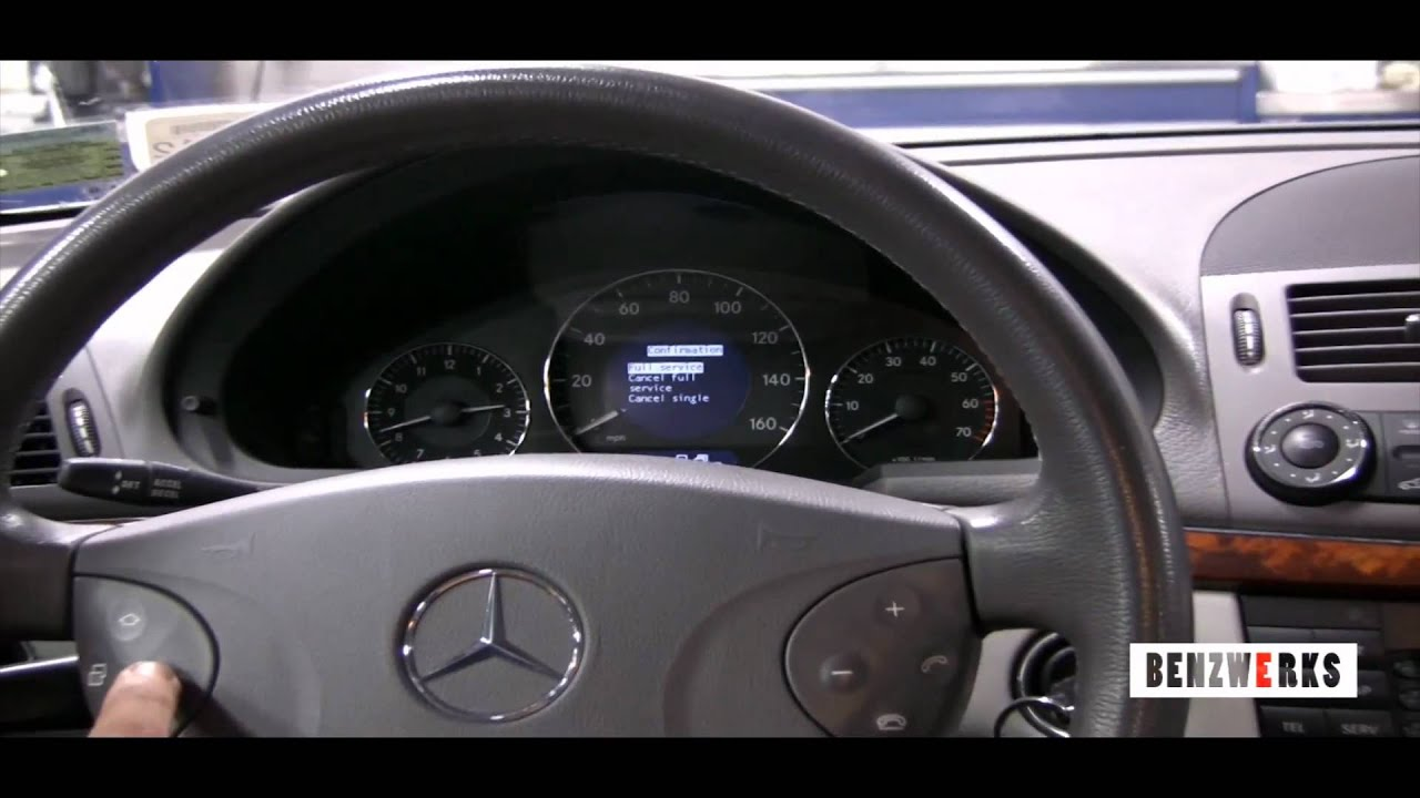 Mercedes benz w211 service c for Mercedes benz prepaid maintenance