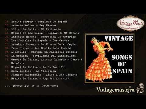 Songs of Spain, Copla y Suspiros de España (Full Album/Álbum Completo)