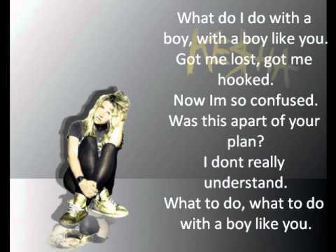 Ke$ha - boy like you WITH LYRICS