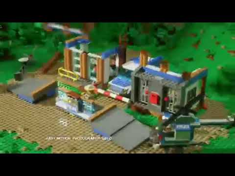 LEGO 4439 Heavy-Duty Helicopter - LEGO 4440 Forest Police Station ...