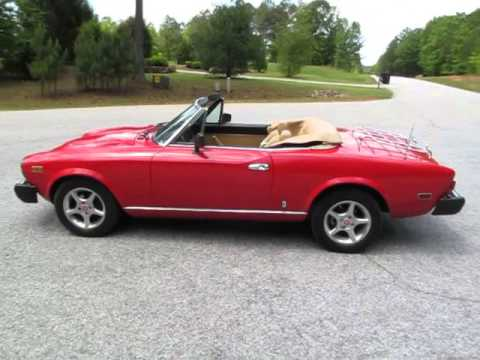 1980 fiat 2000 spider youtube. Black Bedroom Furniture Sets. Home Design Ideas