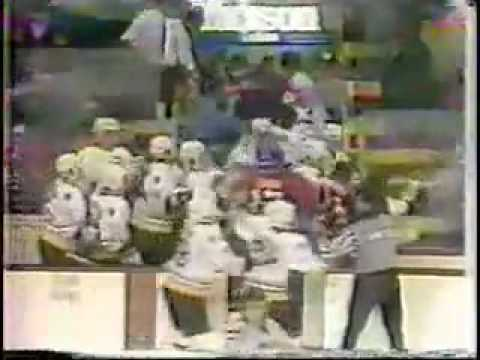 'The Brawl in the Hallway' Canadiens vs Bruins '85/86