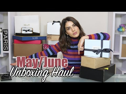 May/June Unboxing Haul