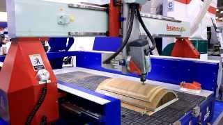 Четырехосевой фрезерно-гравировальный станок, Woodex. ЛесТехПродукция - 2014(Ассоциация «КАМИ» — это объединение ведущих поставщиков промышленного оборудования, промышленных предпр..., 2014-01-27T09:03:42.000Z)