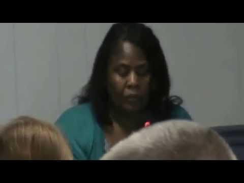 Gordon Historic Mayor Mary Ann Whipple-Lue (1st Meeting In Oct 2014)