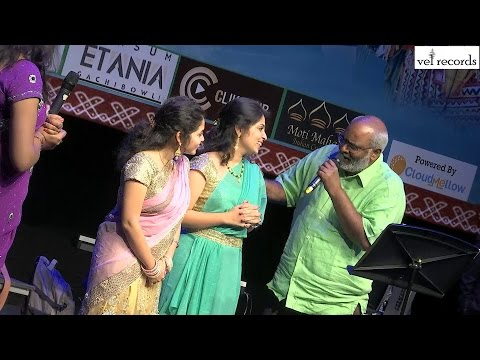 Orchestra intro song - MM Keeravaani Live Concert | United States | 2016