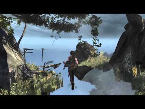 Tomb Raider: Definitive Edition Glitch/bug Out Of Map 1 Return To Locked Area Mountain Descent