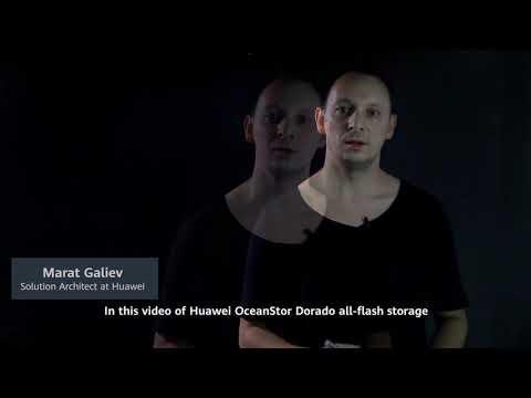 Almacenamiento all-flash SmartMatrix OceanStor Dorado de Huawei
