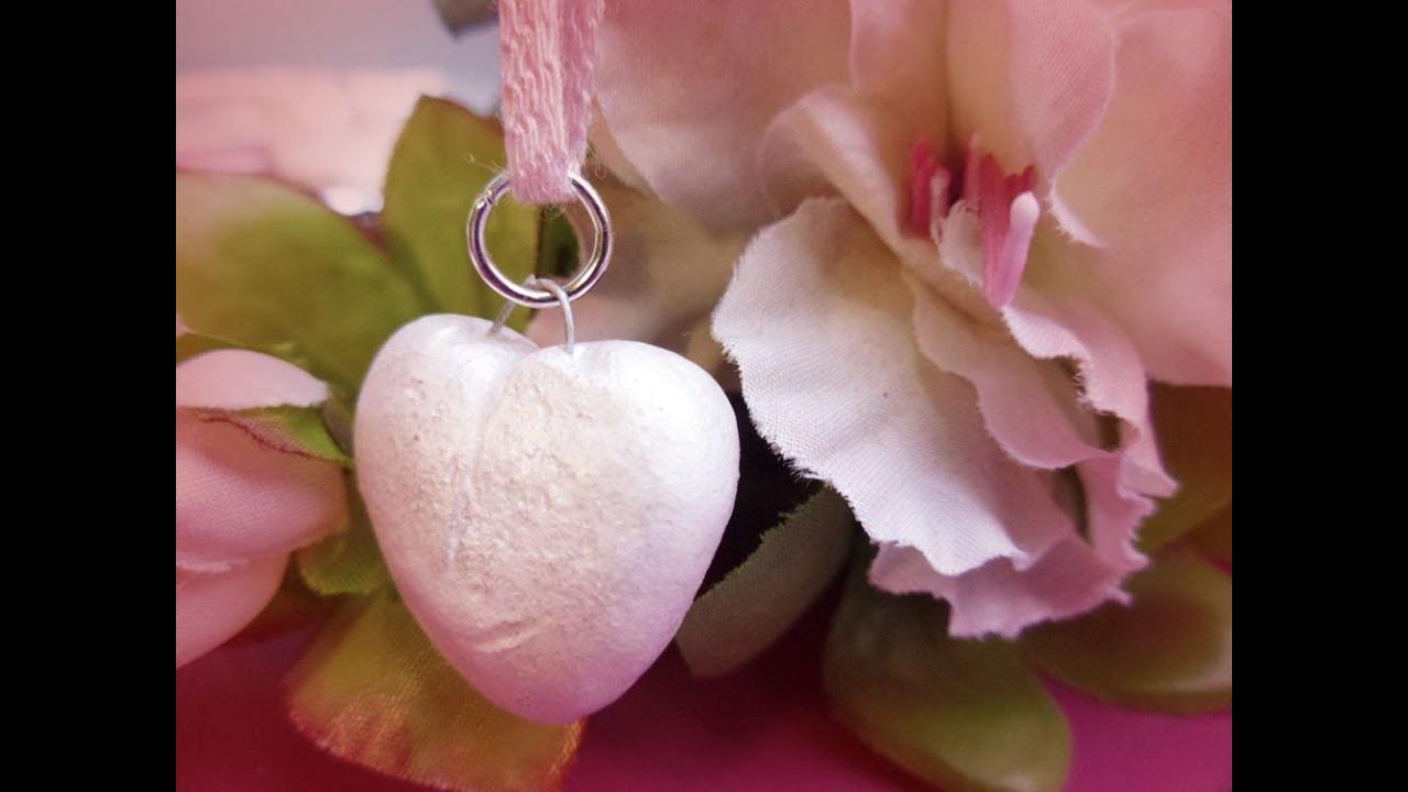 Diy salt dough heart pendants youtube diy salt dough heart pendants aloadofball Choice Image