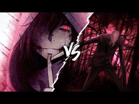 Jeff the Killer vs Slenderman | Kinox ft BTH