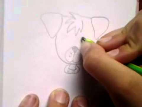 Jak Nakreslit Psa Youtube