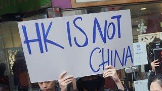 Hong Kong vs China: Chinese tourists behaving badly in HK; Anti-China protests - Compilation