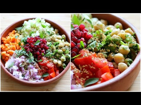 Weight Loss Salad Recipe For Dinner – How To Lose Weight Fast With Salad – Indian Veg Meal/Diet Plan