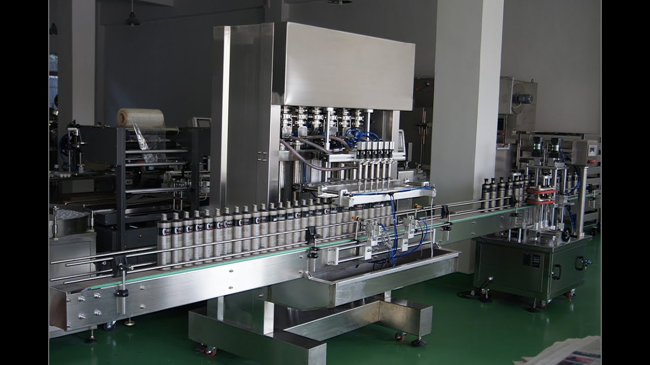 Automatic Liquid Filling Machine Machine For Plastic