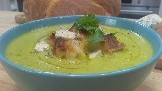 Domowa zupa brokułowa - krem z brokułów