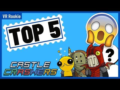 Castle Crashers Remastered Best Way To Level Up Manually Youtube