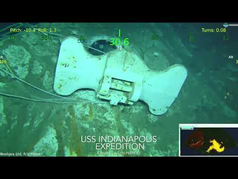 Expedition Finds Torpedoed WWII Ship USS Indianapolis