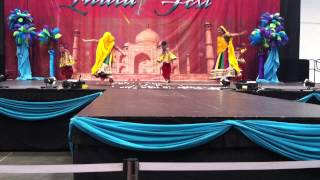 Nritaangan Dance Academy - India Fest 2014 - Bollywood Garba