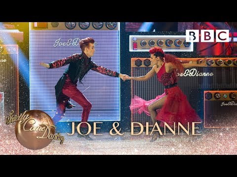 Joe & Dianne Show Dance to I Bet That You Look Good On The Dancefloor - BBC Strictly 2018