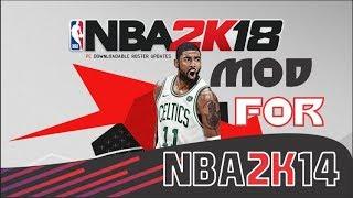 Medevenx NBA2K18 mod for NBA2K14 pc + download Link