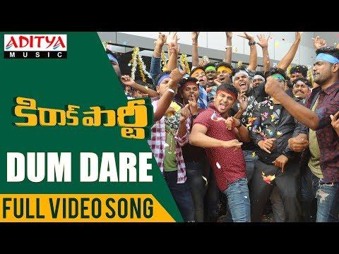 Dum Dare Full Video Song | Kirrak Party Video Songs | Nikhil Siddharth | Simran, Samyuktha