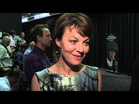 Peaky Blinders  UK Premiere s  Cillian Murphy, Helen McCrory, Charlie CreedMiles