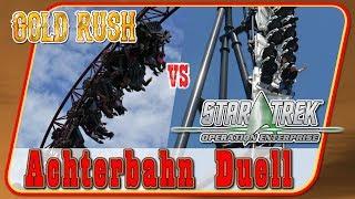 Gold Rush vs Star Trek: Operation Enterprise - Achterbahn Duell