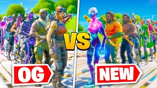 *OG vs NEW* Fortnite Fashion Show! FIRE Skin Competition! Best COMBO WINS!
