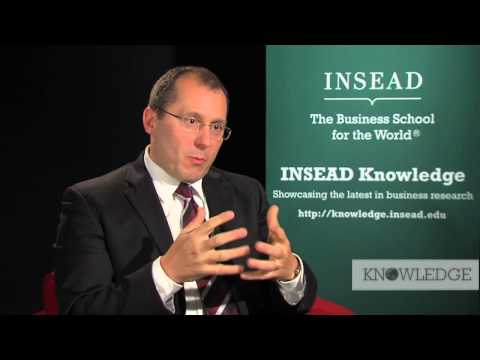 INSEAD Professor Javier Gimeno on the INSEAD European Competitiveness Initiative