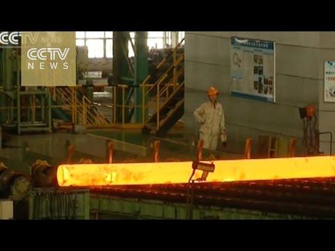 Worldwide steel production dropped 2.8% in 2015