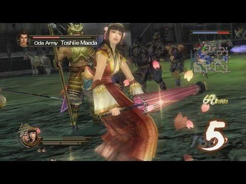 Samurai Warriors 2:XL - Battle of Okehazama - Imagawa Forces | Okuni (360)