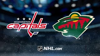 Ovechkin earns 1,100th point in 5-2 win against Wild