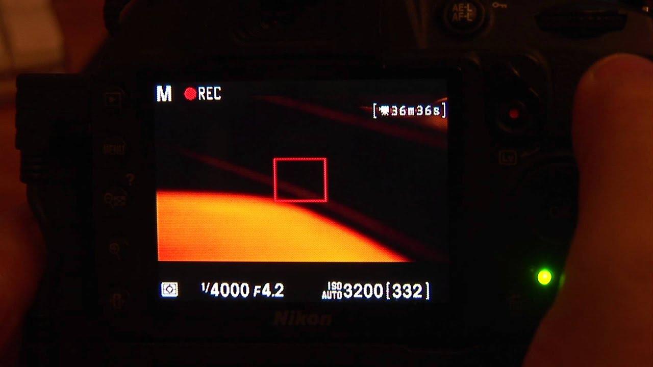 nikon d3100 hacked unlimited record youtube rh youtube com Take Photo Nikon D3100 Manual Manual Focus Nikon D3100