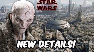 New Details Leading To Snoke's Origin? - STAR WARS