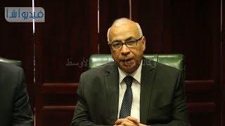 بالفيديو :علي حسن متحدثا في بداية لقاء أسرة أ ش أ مع محافظ كفر الشيخ