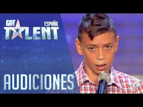 La reencarnación de Camarón   Audiciones 4   Got Talent España 2016