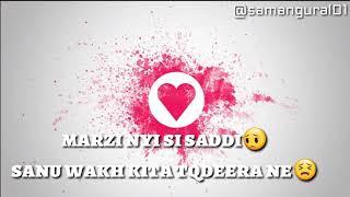 Dil kafira - Mickey singh whatsapp status video