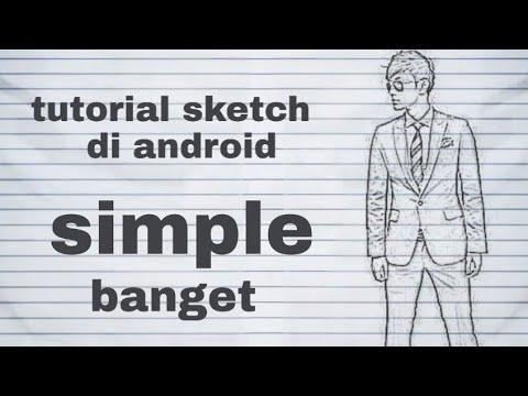 Tutorial edit foto realistic sketch di android dengan picsart thumbnail