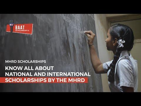MHRD Scholarship 2018 -19 | Baat Scholarship Ki