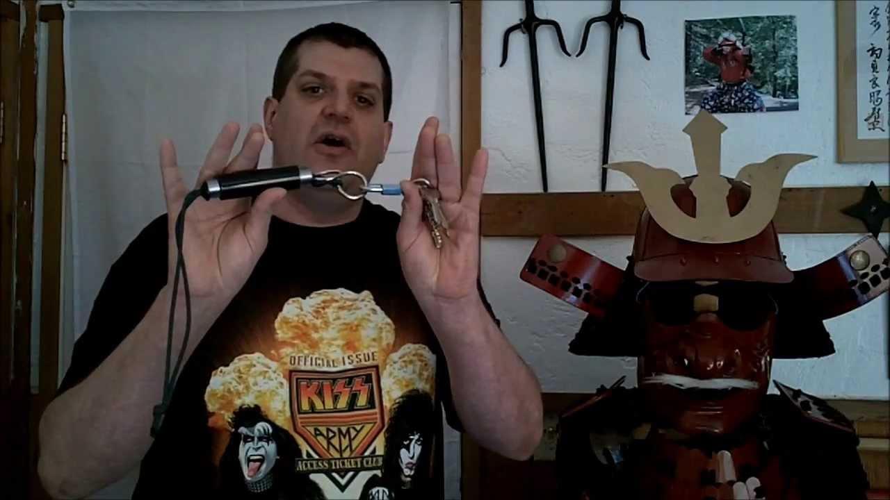 The Titano Sharp Shooter Self Defense Key Chain Youtube