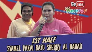 Wow Syamel pakai baju sumo main futsal | 1st Half | Lauk FC vs Avengers Malaychia I Liga MeleTOP