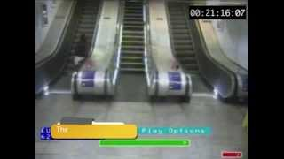 CCTV of some embarrassing slip ups in railway stations