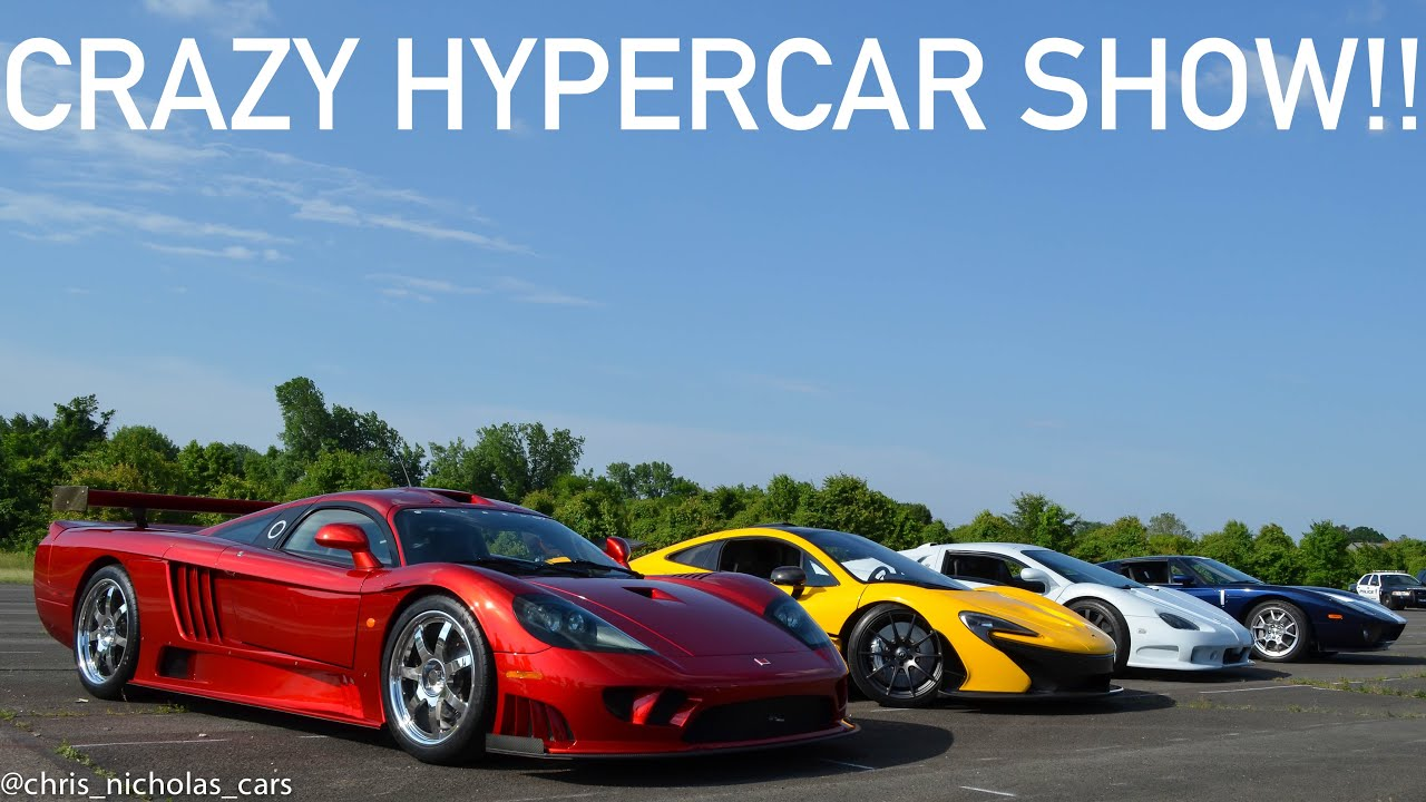 Cf Charities Supercar Show So Many Hypercars Youtube