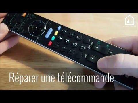Astuce bricolage r parer une t l commande tv bricolage for Telecommande philips livingcolors ne fonctionne plus