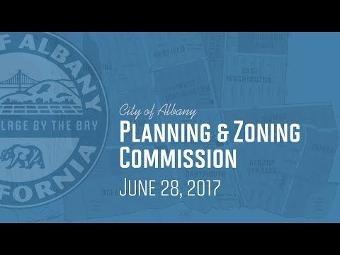 Planning & Zoning Commission - June 28, 2017